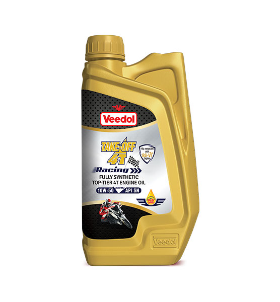 Take-Off 4T Racing 10W-50 Motorcycle Oil