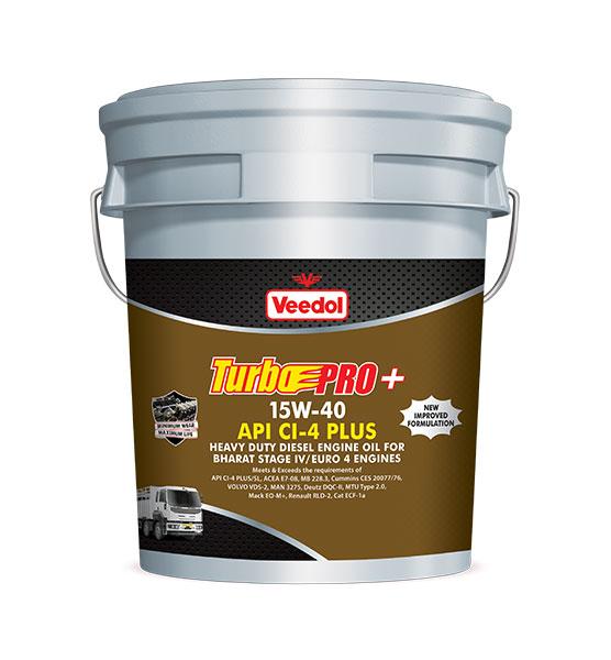 TURBO PRO+15W-40 API CI4 PLUS Commercial Vehicle Oil